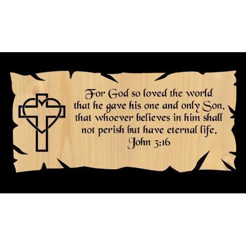 John 3.16 Heart