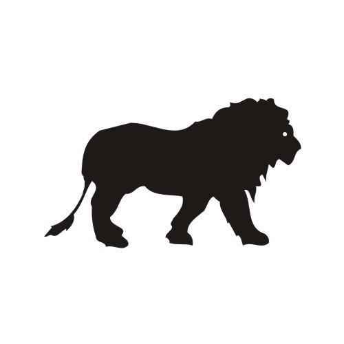 Simple Lion Vector