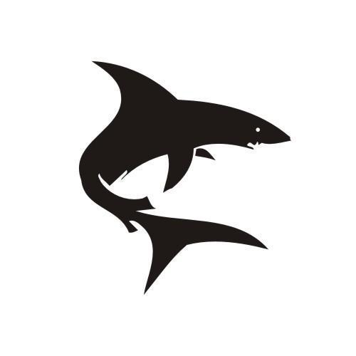 Simple Shark Vector