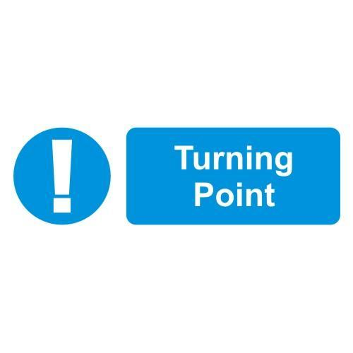 Turning Point Sign