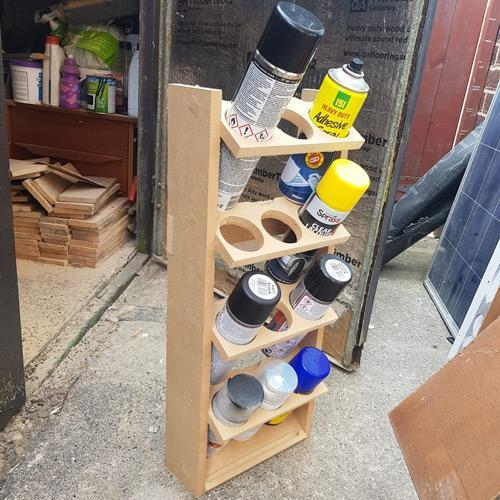 3x4 Spray Can Holder
