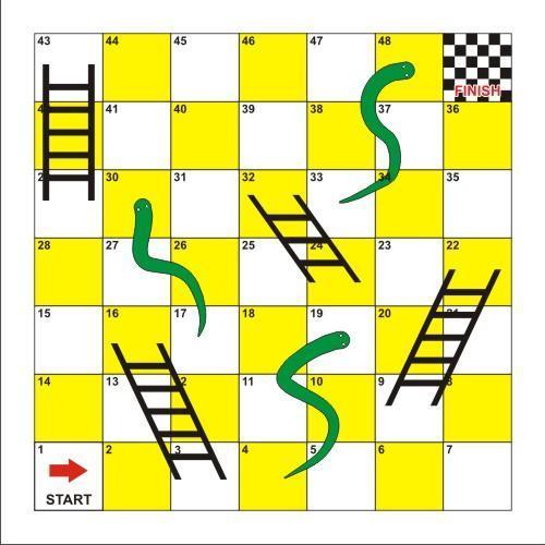4ft Snakes & Ladders